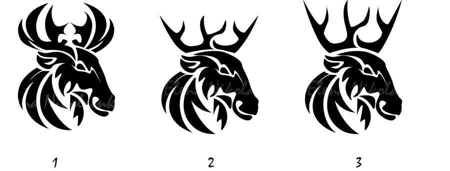 Contest Entry #                                        29                                      for                                         Buck antler logo design