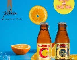 #38 for Graphic for a beverage advertisement by suvitson17