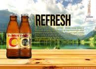 Graphic for a beverage advertisement için Graphic Design6 No.lu Yarışma Girdisi