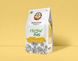 #25 for Create a bag design for cut and sifted herbal tea pouch by shrey1991