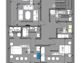 #50 para Reimagining the Floor Plan for My Home's Second Floor por rumpadas099