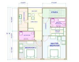 #32 para Reimagining the Floor Plan for My Home's Second Floor por ILLUSTRART
