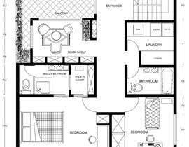 #31 para Reimagining the Floor Plan for My Home's Second Floor por nouridaniel110