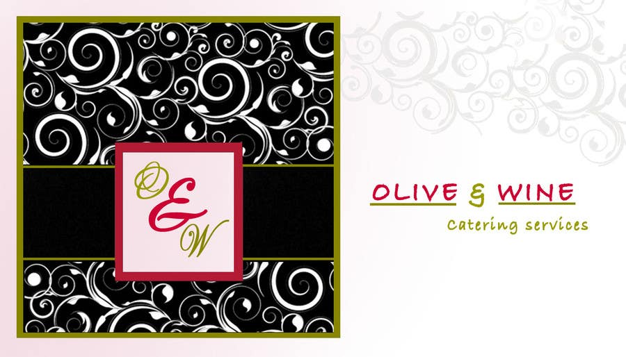 Print Contest Entry #36 for Business Card Design for Catering Company