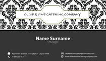 Graphic Design Contest Entry #6 for Business Card Design for Catering Company