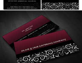 nº 44 pour Business Card Design for Catering Company par msofredhi