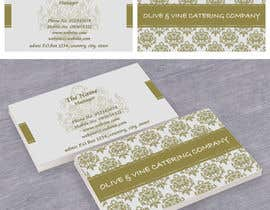 #10 para Business Card Design for Catering Company por salamhadi