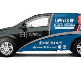 #69 for Design Professional Car Wrap for Lawyer by dindinlx
