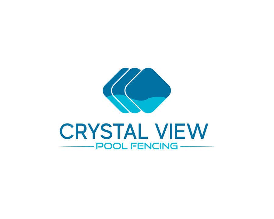 Contest Entry #                                        14                                      for                                         New Business Logo - Crystal View Pool Fencing