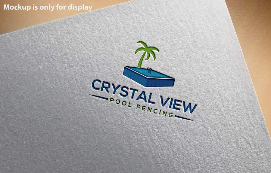 Contest Entry #                                        65                                      for                                         New Business Logo - Crystal View Pool Fencing