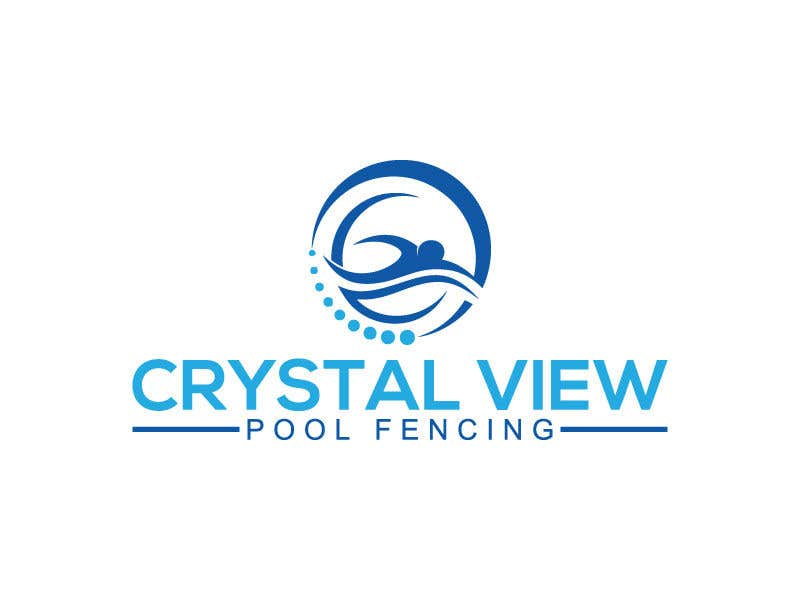 Contest Entry #                                        124                                      for                                         New Business Logo - Crystal View Pool Fencing