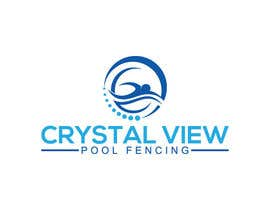 #124 for New Business Logo - Crystal View Pool Fencing by kulsumab400