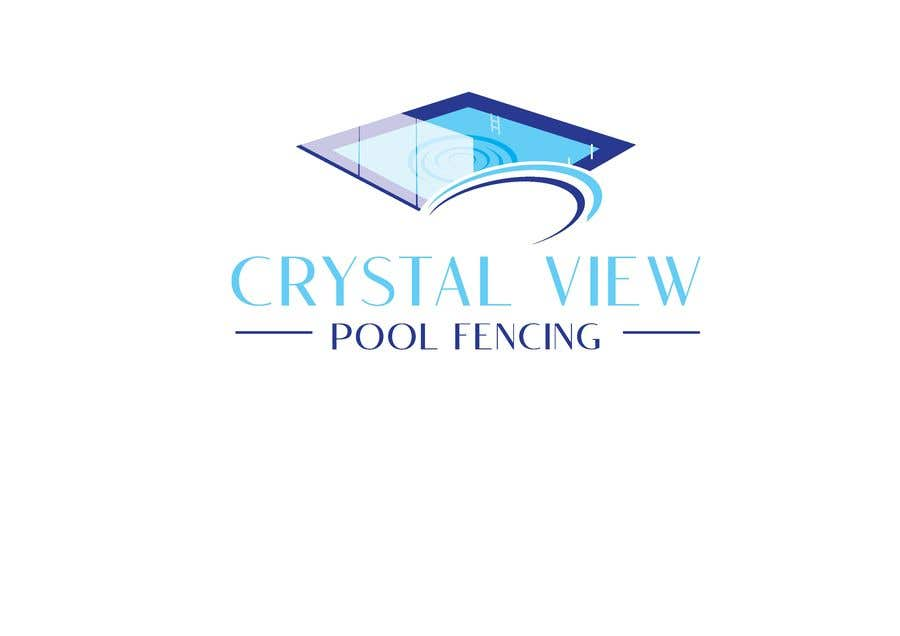Contest Entry #                                        117                                      for                                         New Business Logo - Crystal View Pool Fencing