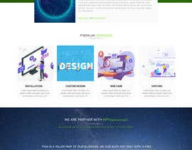 #28 для Homepage mockup for digital agency that serves nonprofits - DESIGN ONLY от qadirf39