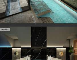 #8 para 3D rendering for a Hotel's Wellness Area por sercevik