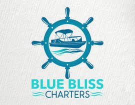#63 for New Logo for Pontoon Boat Charters - Blue Bliss Charters af abdesigner04
