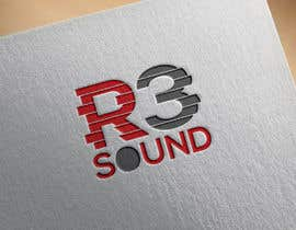 Nro 128 kilpailuun LOGO DESIGN for R3 Sound käyttäjältä aarafatislam2037