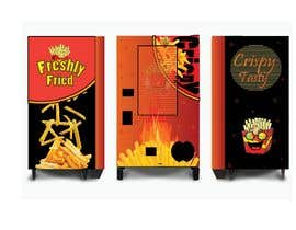 #10 for frinch fries vending machine design af nahidxbd87