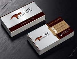 #106 for Build me an visiting card with simple logo on it. af pateldhairya05