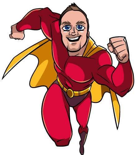 Penyertaan Peraduan #                                        44                                      untuk                                         SUPERHERO - Convert photo to superhero image