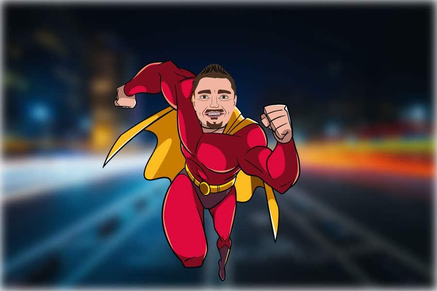 Bài tham dự cuộc thi #                                        46                                      cho                                         SUPERHERO - Convert photo to superhero image