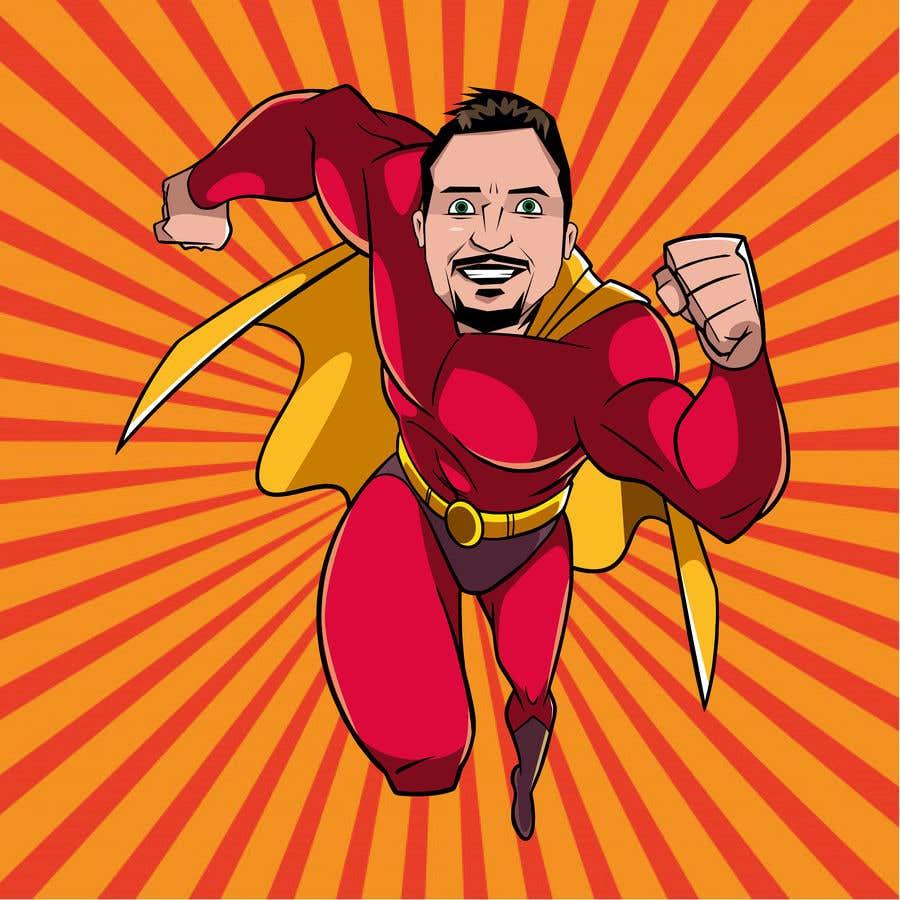Bài tham dự cuộc thi #                                        51                                      cho                                         SUPERHERO - Convert photo to superhero image