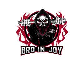 #33 untuk Logo for Gaming / Streamer - Skeleton, Logo, Baseball Bat, Rocker, Sons of Anarchy like oleh Riad1997
