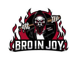 #41 untuk Logo for Gaming / Streamer - Skeleton, Logo, Baseball Bat, Rocker, Sons of Anarchy like oleh Riad1997