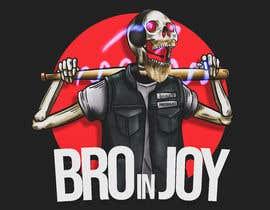#58 untuk Logo for Gaming / Streamer - Skeleton, Logo, Baseball Bat, Rocker, Sons of Anarchy like oleh lraihan