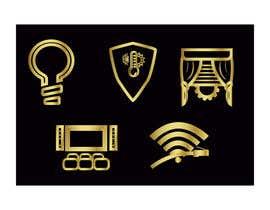 #18 для Design 5 icons от fernandocamperos
