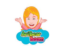 #34 untuk Logo creation for child's YouTube channel, similar to 'Ryan's toy review' and 'Janet and Kate'. This will be a PRIVATE YouTube channel. The account name will be AriBearBoom. Account for mostly playing video games. Needs to be fun, bright and colourful. oleh umamaheswararao3