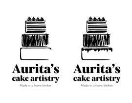 #17 para Need logo, label with logo, ingredient label, mini cake sticker & fridge magnet design. por mimirosecreative