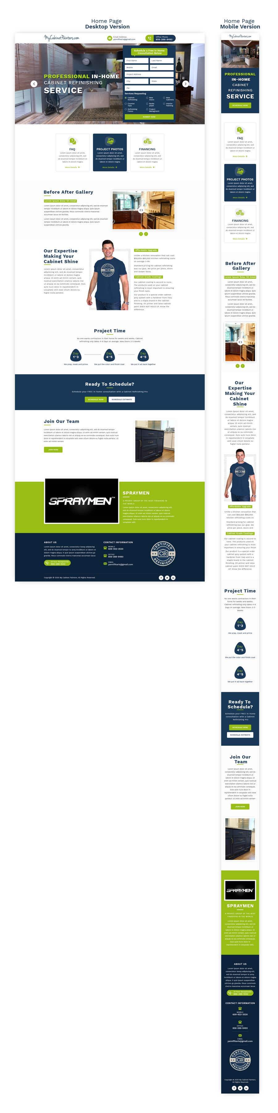 Kilpailutyö #                                        12                                      kilpailussa                                         Design and Build a Website - Awesome Responsive Wordpress site