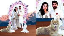 Graphic Design Entri Peraduan #6 for Wedding Card Illustration