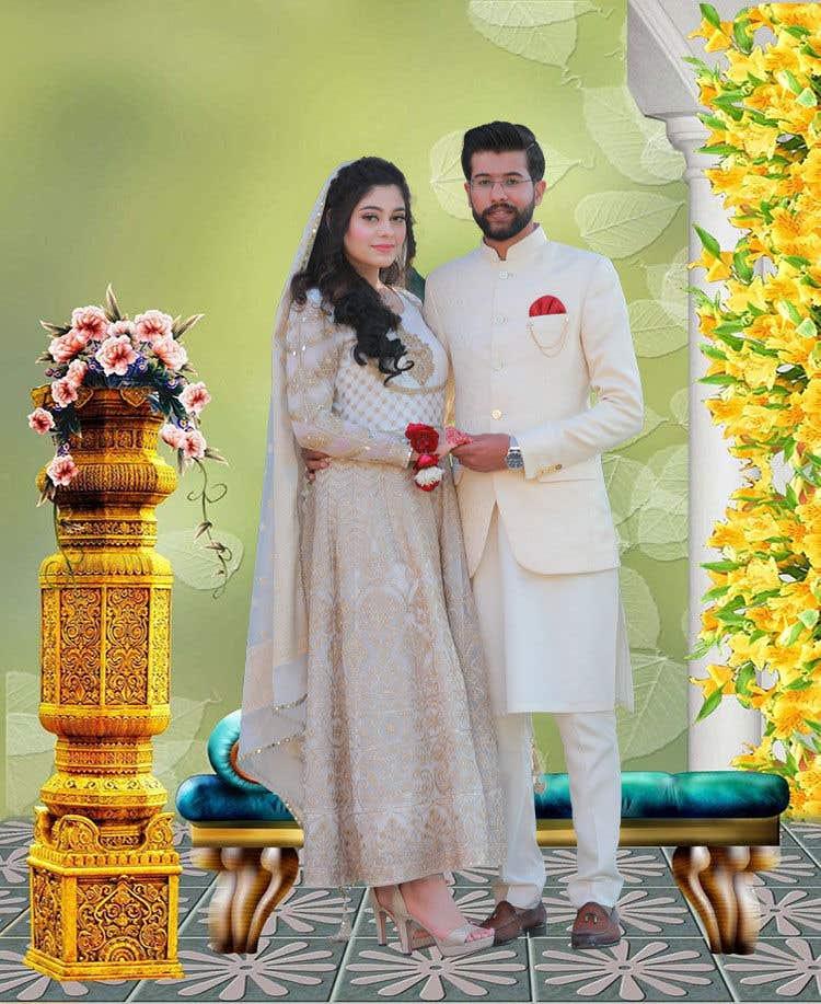 Penyertaan Peraduan #                                        48                                      untuk                                         Wedding Card Illustration