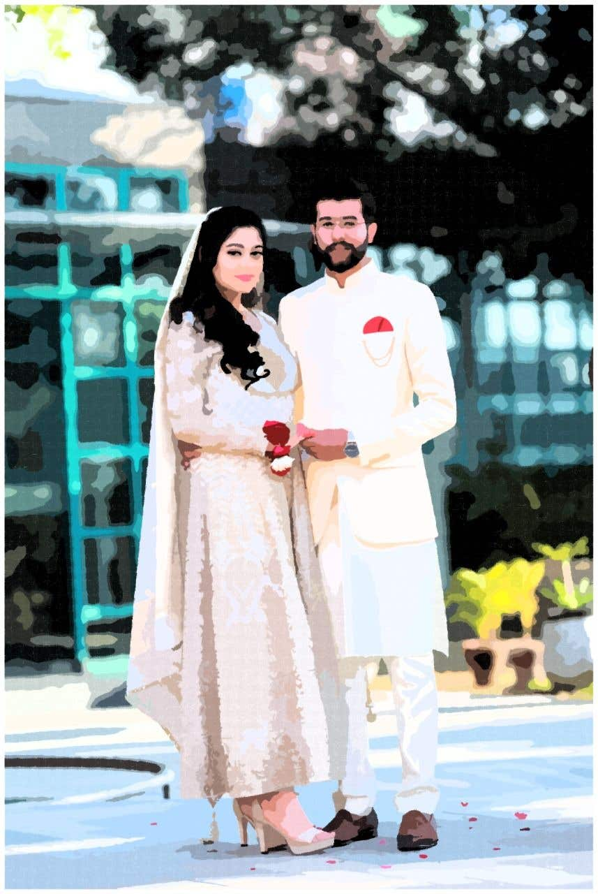 Penyertaan Peraduan #                                        42                                      untuk                                         Wedding Card Illustration