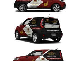 raselcolors tarafından Vehicle Wrap Design Stokes & Broad Street Pharmacy. için no 49