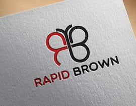 "#118 untuk Require a Logo for our new brand "" Rapid Brown "" oleh zerinomar1133"
