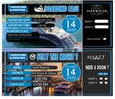 Invitation to Exclusive Event - Boarding Pass Style için Graphic Design36 No.lu Yarışma Girdisi