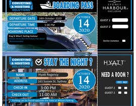 boyetplatio tarafından Invitation to Exclusive Event - Boarding Pass Style için no 37