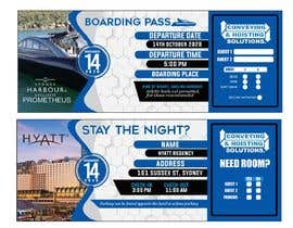 ASA32 tarafından Invitation to Exclusive Event - Boarding Pass Style için no 44