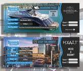 Invitation to Exclusive Event - Boarding Pass Style için Graphic Design102 No.lu Yarışma Girdisi