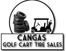 #39 for LOGO/Business card design for Golf Cart Tires sales business. af sadmanshakib9