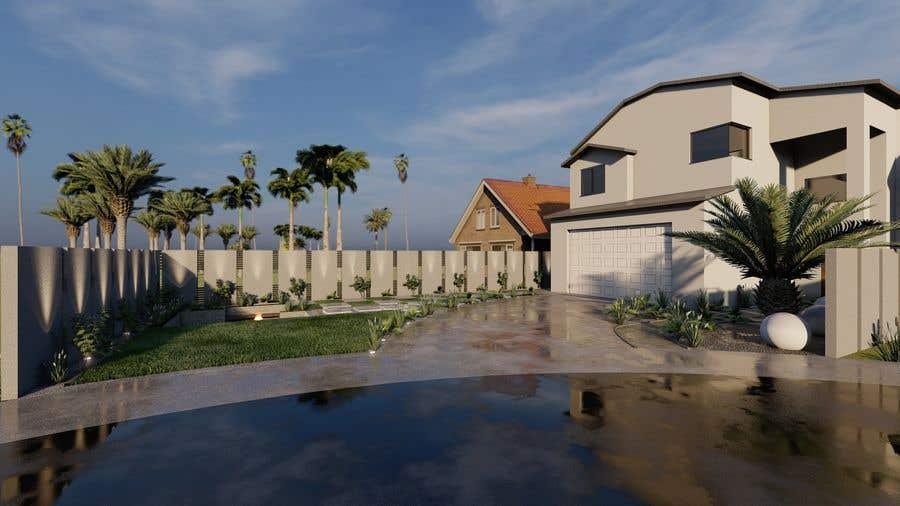 Penyertaan Peraduan #                                        46                                      untuk                                         3D landscape yard design