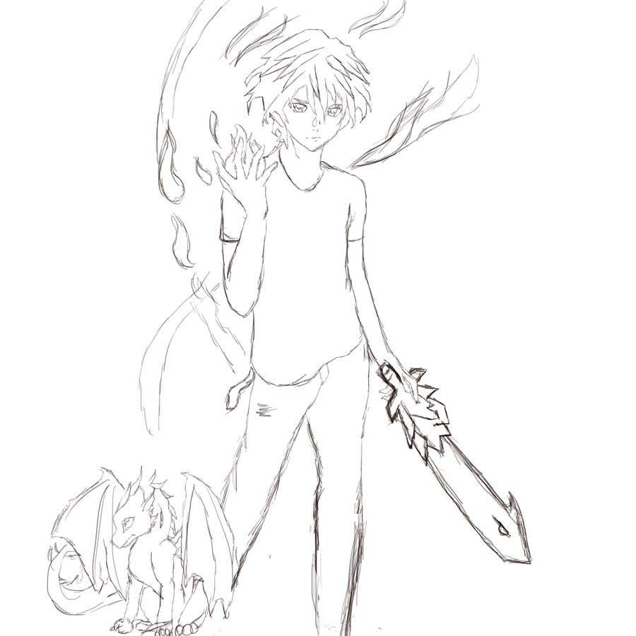 Proposition n°                                        12                                      du concours                                         Create anime characters from a book my son has written