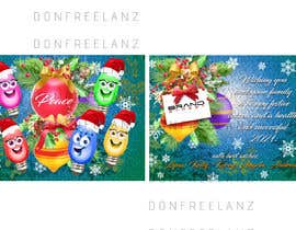 #67 for Christmas card design by donfreelanz