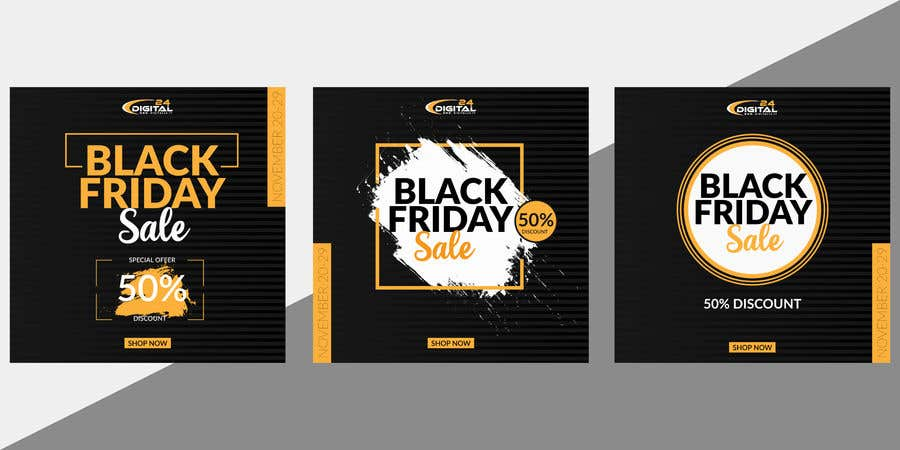 Contest Entry #                                        55                                      for                                         Create 3 banner for: black friday, Stock and offers