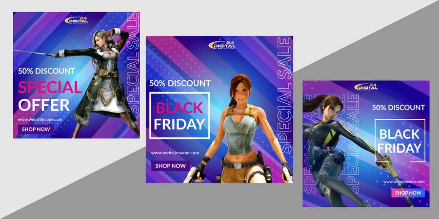 Contest Entry #                                        71                                      for                                         Create 3 banner for: black friday, Stock and offers