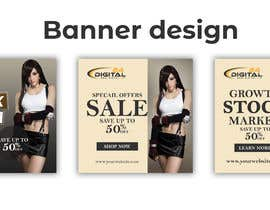 #70 for Create 3 banner for: black friday, Stock and offers by usukuks