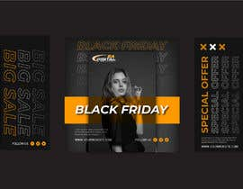 #62 for Create 3 banner for: black friday, Stock and offers by MohammadIsmail02
